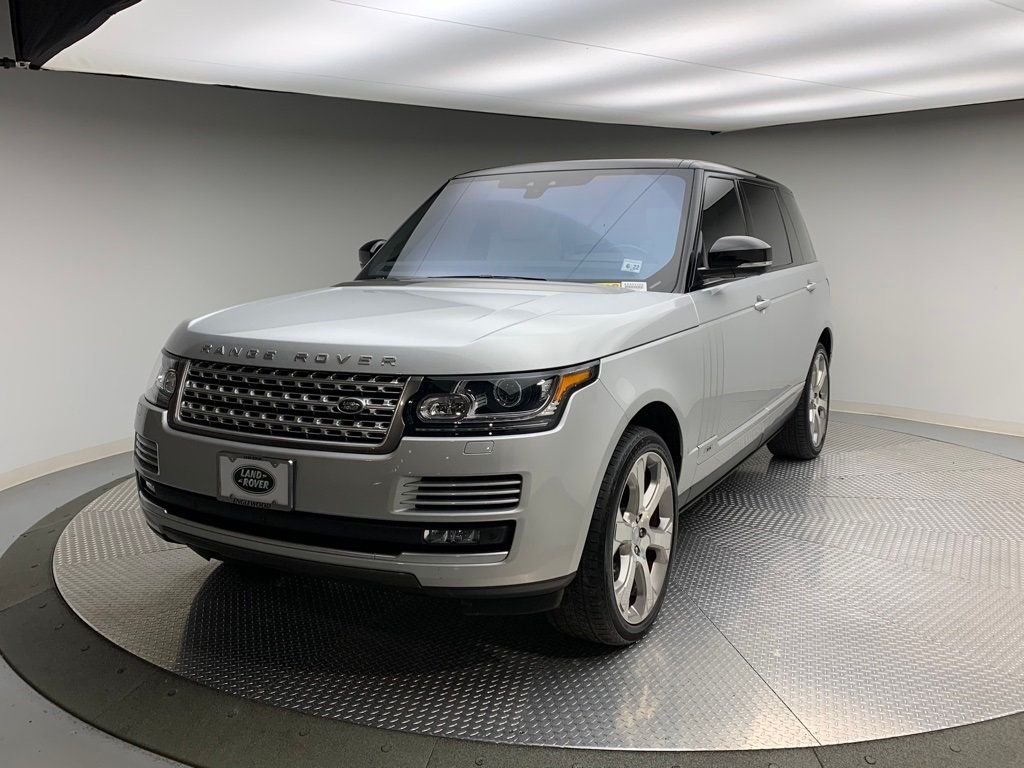 Pre-Owned 2017 Land Rover Range Rover V8 Supercharged LWB
