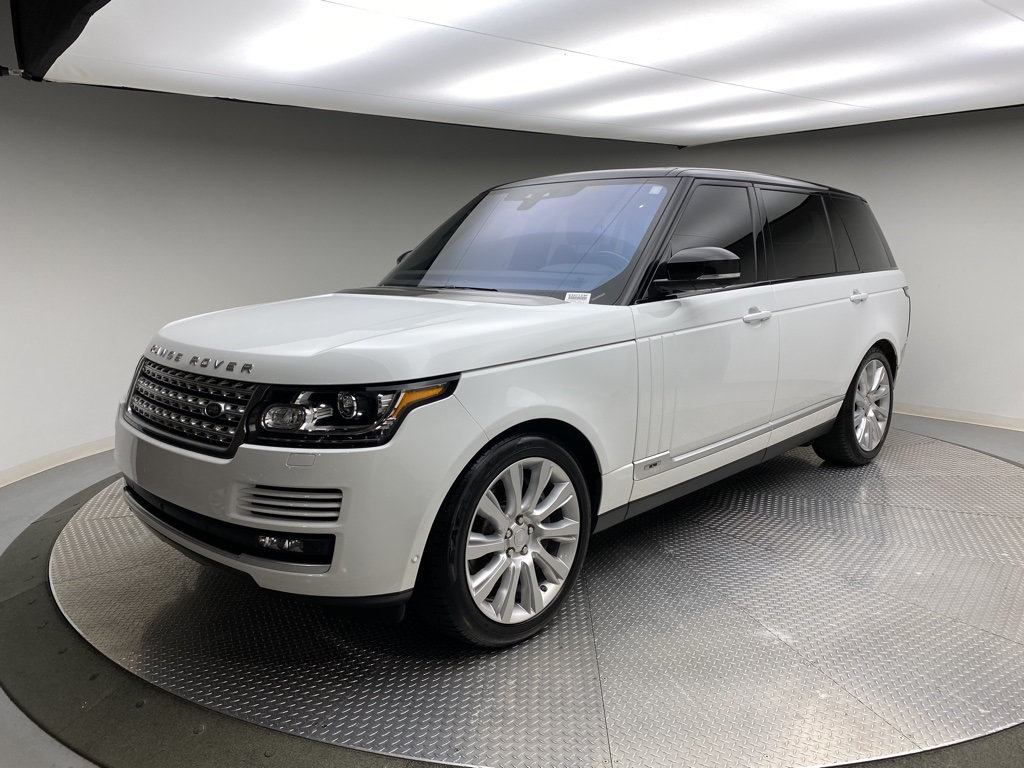 Certified Pre-Owned 2017 Land Rover Range Rover V8 Supercharged LWB