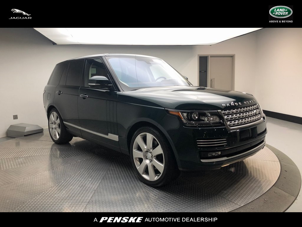 Pre-Owned 2016 Land Rover Range Rover 4WD 4dr Autobiography