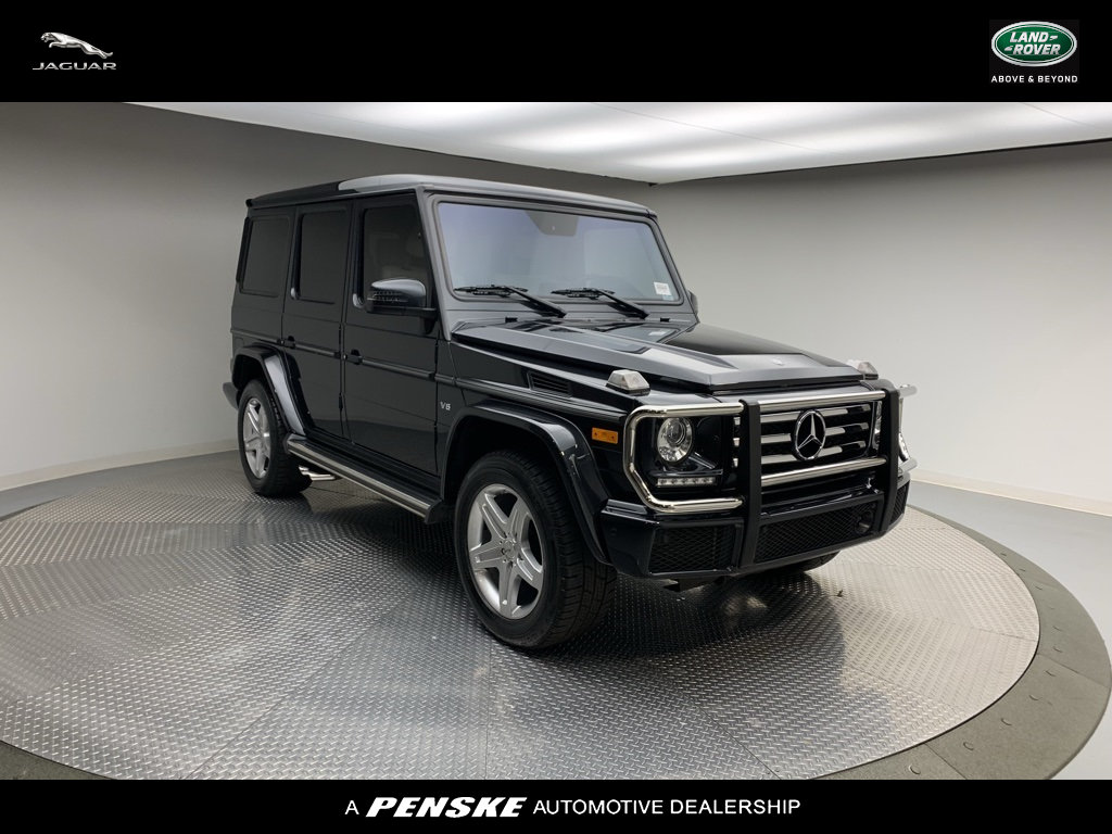 Pre-Owned 2017 Mercedes-Benz G-Class G 550 4MATIC® SUV
