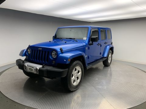 Pre-Owned 2015 Jeep Wrangler Unlimited 4WD 4dr Wrangler X