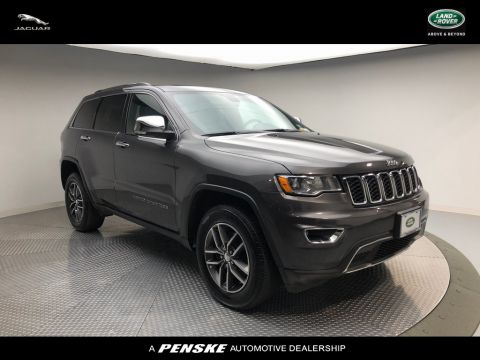 Pre-Owned 2017 Jeep Grand Cherokee 4DR SUV 4X4