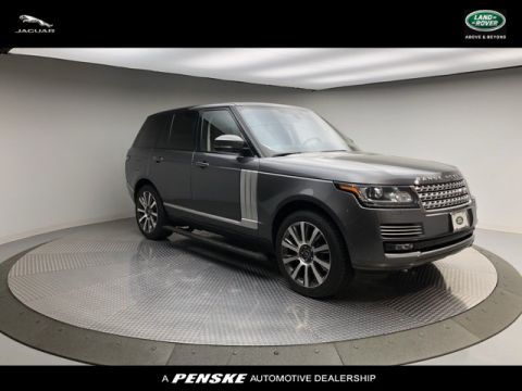 Pre-Owned 2015 Land Rover Range Rover 4WD 4dr Autobiography