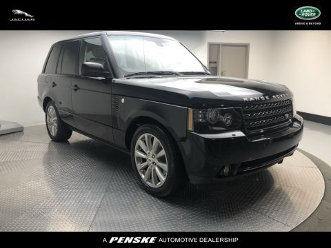 Pre-Owned 2012 Land Rover Range Rover 4WD 4dr HSE