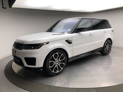 Certified Pre-Owned 2019 Land Rover Range Rover Sport Turbo i6 MHEV HSE